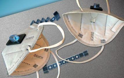 У Штатах створили захисну маску, яка визначає, чи хвора людина COVID-19
