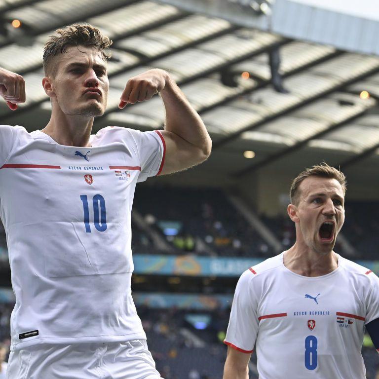 Гол лучшего бомбардира Евро-2020 принес чехам ничью в матче с финалистом Чемпионата мира