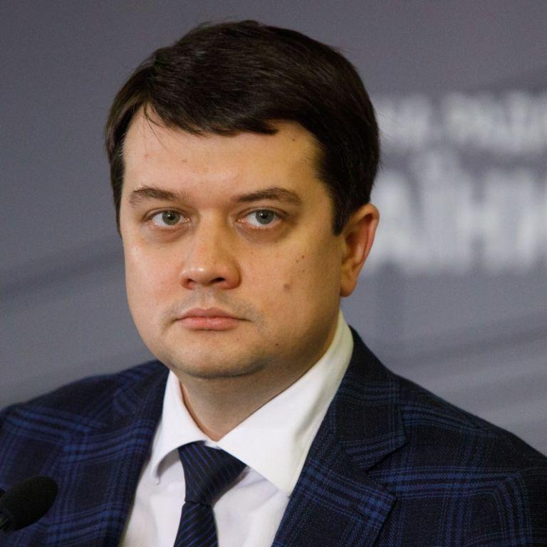 Разумков созывает внеочередное заседание Рады для рассмотрения закона о наказании за пьяное вождение