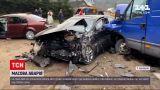 """Новости Украины: на трассе """"Киев-Чоп"""" из-за плохой видимости произошла массовая авария"""