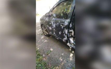 Під Дніпром на ходу вибухнув легковик: на задньому сидінні здетонувала ручна граната