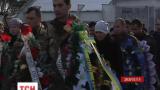У Мукачевому провели в останню путь військовослужбовця Сергія Вербицького