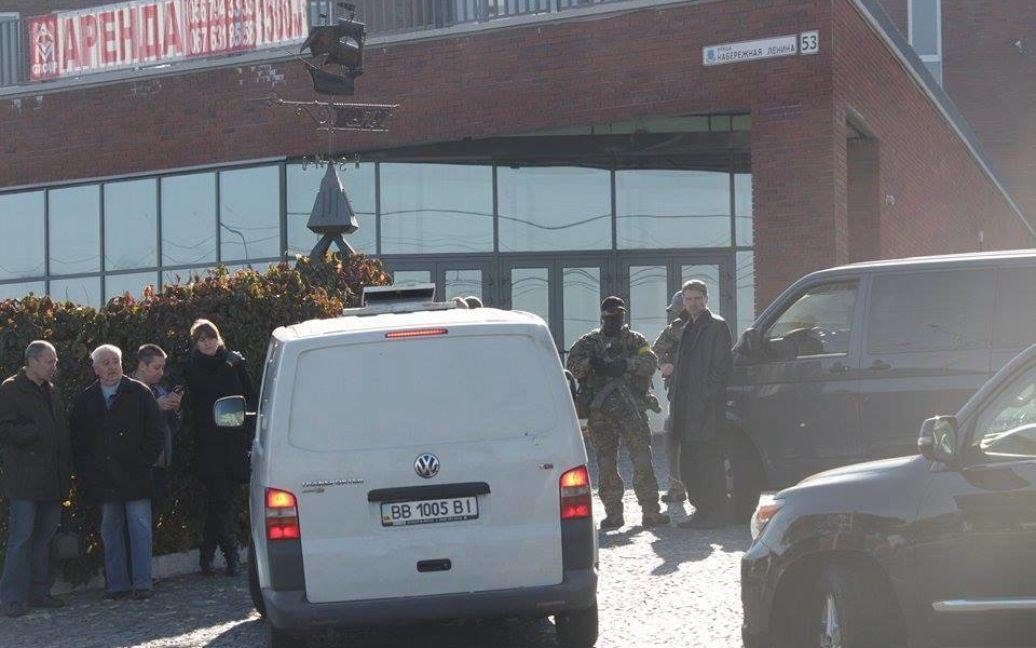 Постановление об обыске принимал суд в Чернигове / © УКРОП/Facebook