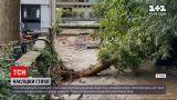 Новости мира: в Италии после шторма с мощным градом озеро вышло из берегов, начались оползни