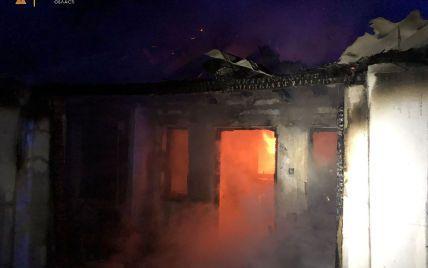 В Николаевской области в пожаре погибла бабушка