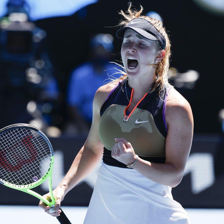 Світоліна закамбечила і вибила тенісистку російського походження з престижного турніру в Римі