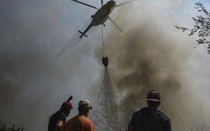 Південь Європи - у вогні: пів сотні нових займань у Греції, стовпи диму над Сицилією та 8 загиблих у Туреччині