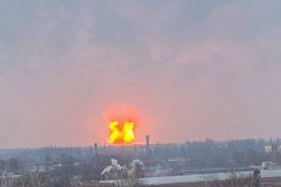 В Полтавской области на газопроводе прогремел мощный взрыв (фото, видео)