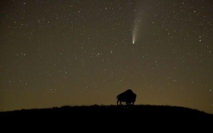 Комета ATLAS розвалилася, так і не наблизившись до Землі
