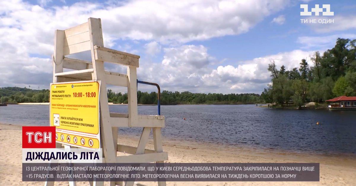 Погода в Украине: метеорологическое лето пришло на 3 дня позже многолетних дат