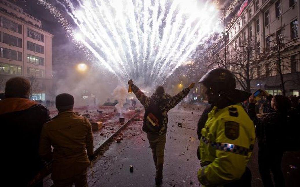 Святкування Нового року у Празі, Чехія. / © Getty Images