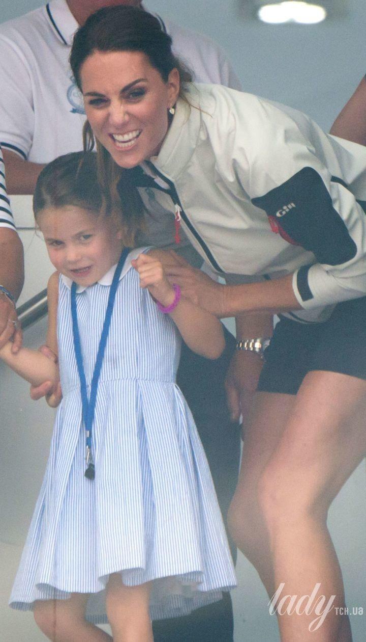 Герцогиня Кембриджська та принцеса Шарлотта / © Getty Images