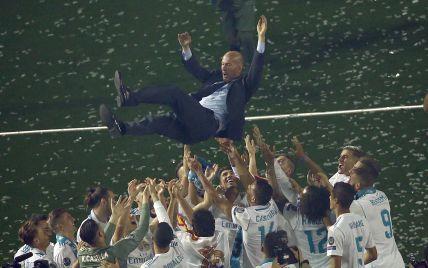 Зидана признали лучшим тренером в истории Лиги чемпионов