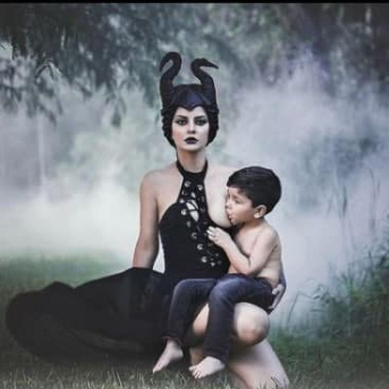"""""""Буду продолжать, сколько потребуется"""": в Великобритании женщина кормит грудью 4-летнего сына"""