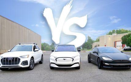 Кто быстрее проедет 1 тысячу миль: соревнование бензинового авто против электрокаров