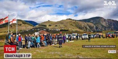 Евакуація тривала дві доби: у грузинському регіоні Тушетії завершили рятувальну спецоперацію