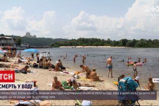 Новини України: майже три сотні людей потонули з початку липня, кожен десятий загиблий - дитина