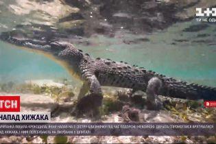 Новости мира: британская девушка спасла родную сестру от пасти крокодила
