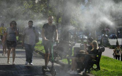 Сильні грози та рекордна спека в серпні: прогноз погоди в Україні