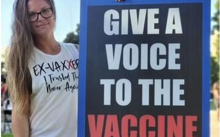 В США умерла мать четверых детей, которая выступала против COVID-вакцинации