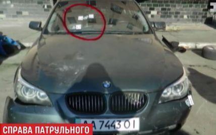 Скандальный патрульный Олейник восстановился на работе в полиции
