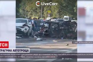 """Новини світу: на трасі """"Севастополь-Ялта"""" самоскид вилетів на зустрічну смугу і протаранив 5 авто"""