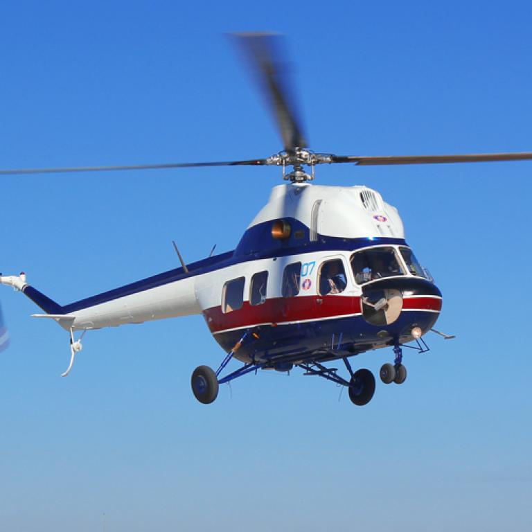 """""""Мотор Січ"""" організовує повітряні екскурсії на вертольоті"""