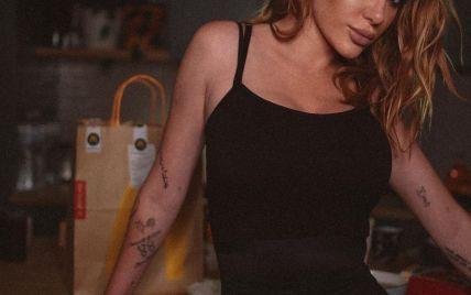 Сексуальна господиня: Слава Камінська підкреслила струнку фігуру чорним боді