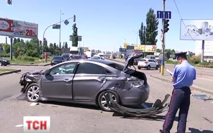 ДТП под Борисполем парализовало движение до аэропорта