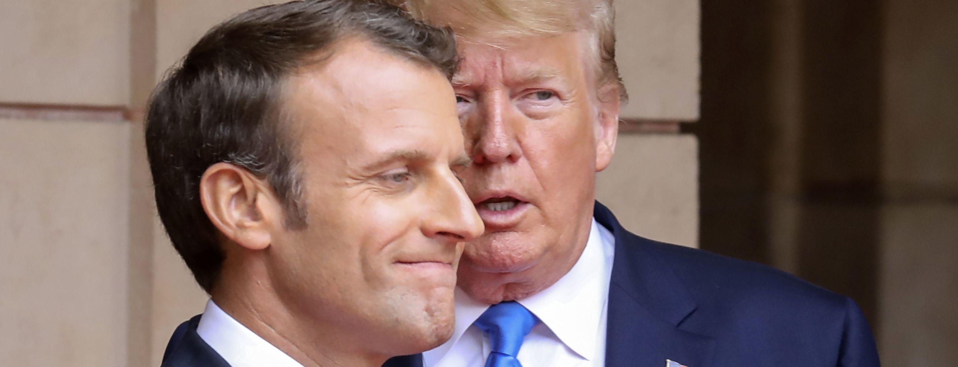 Трамп и Макрон договорились о возвращении РФ в G7 – CNN