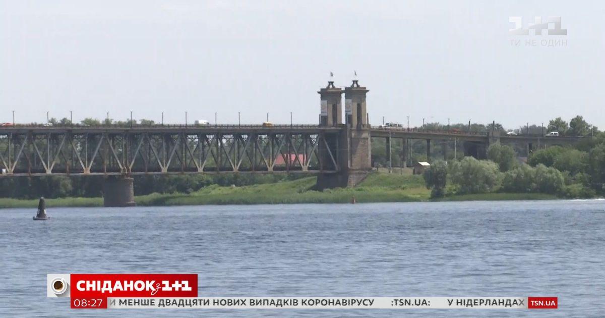 Гордость и проблема Кременчуга: знаменитый Крюковский мост находится в аварийном состоянии