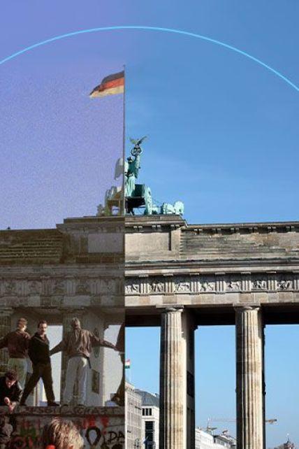 """Берлинская стена упала 30 лет назад: как возродился город и ожила """"полоса смерти"""" в щемящих фото до и после"""