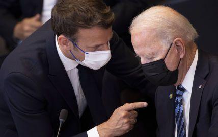 Байден предложил Макрону обсудить ситуацию с отказом Австралии от закупки французских подлодок