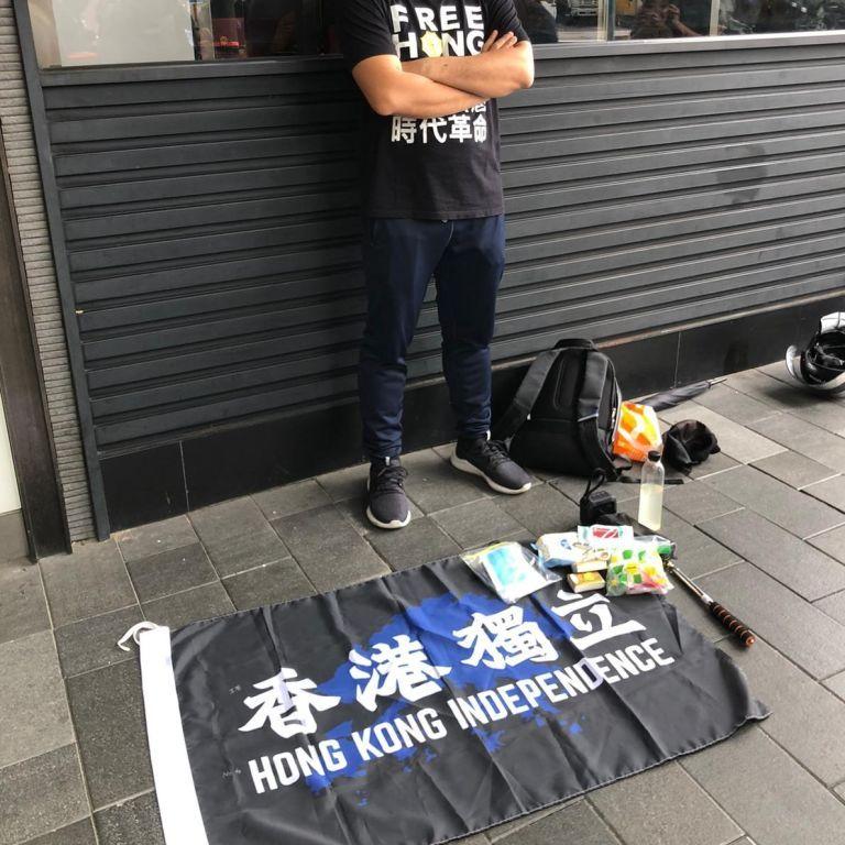 У Гонконзі затримали першу людину за новим китайським законом
