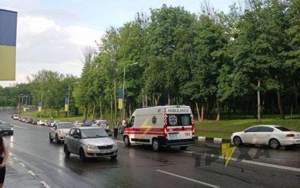 В Харькове парень выпрыгнул из кабины канатной дороги