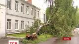 Непогода накрыла Западные области страны
