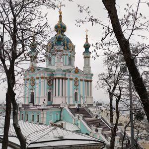 """""""Оздоблення вражає"""": який вигляд має Андріївська церква, яку відкрили після реставрації у Києві"""