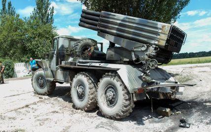 Боевики почти беспрерывно накрывают огнем позиции ВСУ. Карта АТО