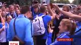 Футбольный клуб «Днепр» вернулся из Варшавы в Днепропетровск