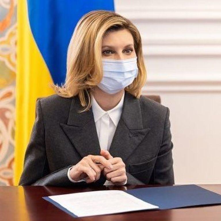 Елена Зеленская рассказала, поедет ли ее дочь учиться за границу
