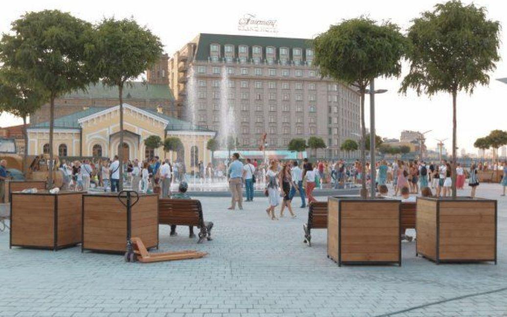 В Киеве открыли Почтовую площадь / © Вести