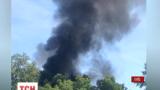 На Трухановом острове произошел пожар