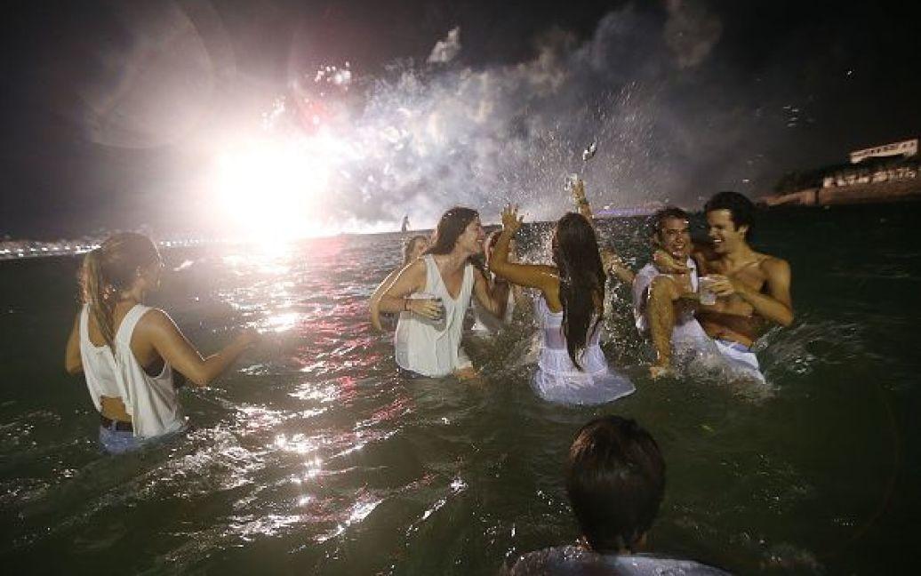 Святкування Нового року у Ріо-де-Жанейро, Бразилія. / © Getty Images