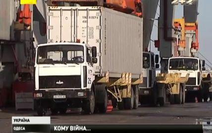 Амуниция бойцам АТО застряла в одесском порту из-за жадности экспедиторской фирмы