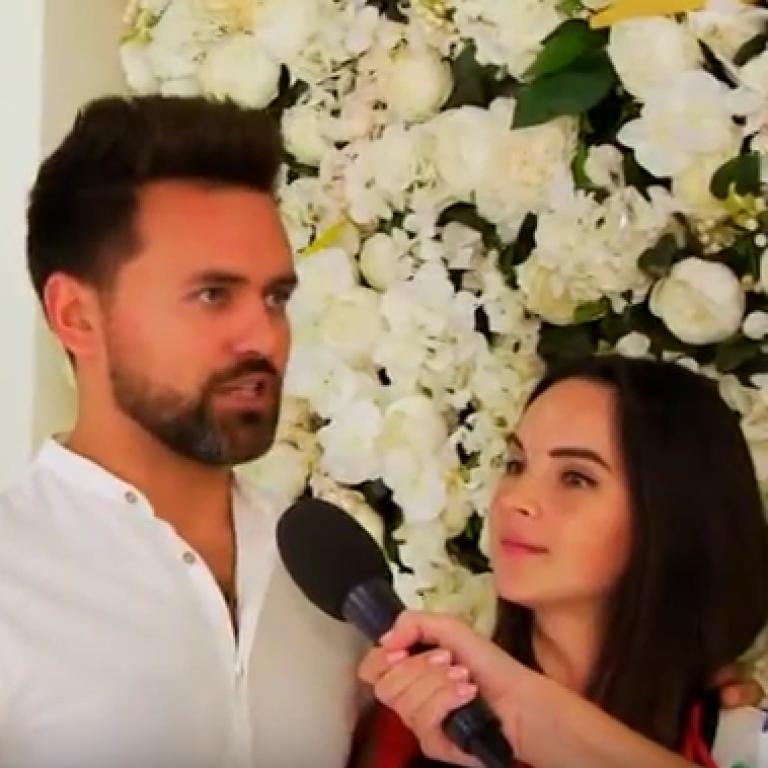 """Ведучий """"Євробачення-2017"""" Мірошниченко з дружиною повідомили дату народження їхнього первістка"""