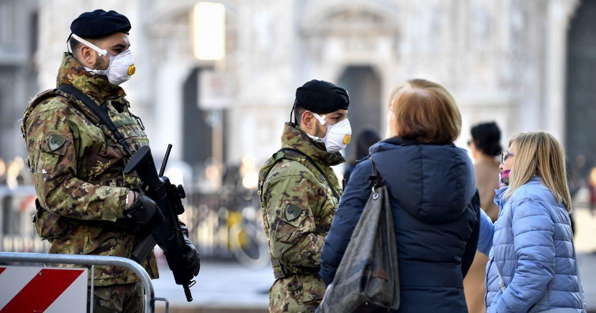 Спалах коронавірусу в Європі