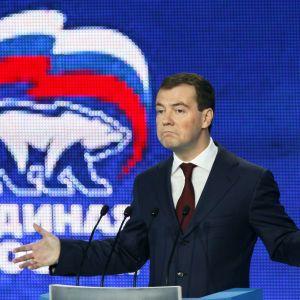 Робота в період кризи і санкцій. Медведєв підбив підсумки своєї роботи на посаді прем'єра