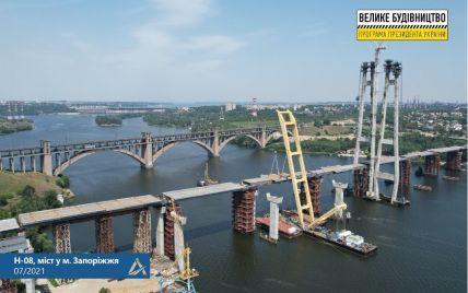 """""""Велике будівництво"""" з'єднало Хортицю з лівим берегом Запоріжжя - Кубраков"""