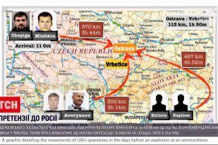 Новости мира: взрывы на складах оружия в Чехии готовили минимум 6 сотрудников ГРУ России