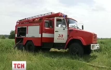 В ГСЧС называют пожары на торфяниках под Киевом контролируемыми